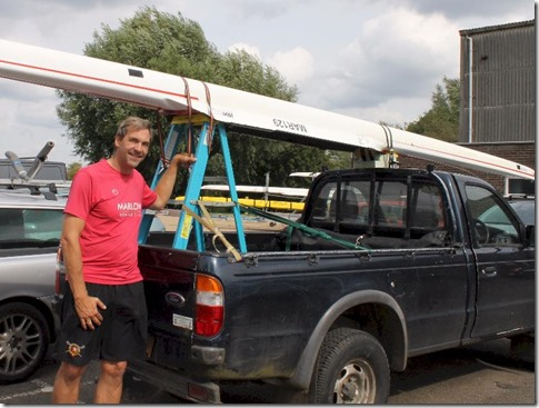 Great Ouse Marathon - pick up boat transport