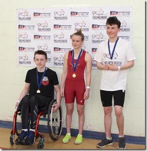 MIRC - Junior Adaptive medals