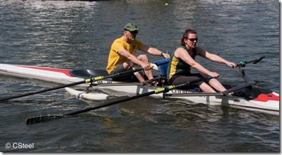 Marlow Spring Regatta - Chris Boys and Hilary Birkenshaw Guildford