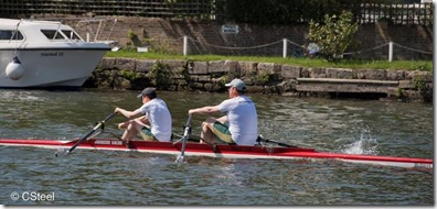 Marlow Spring Regatta - James and Mike Burrows Norwich