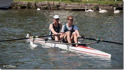 Marlow Spring Regatta - Nick Steel and Steve Bloyce Maidenhead