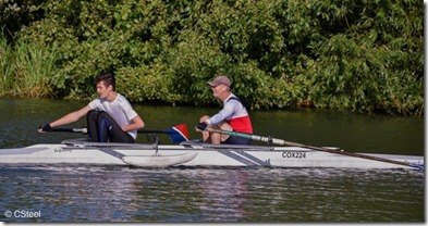 City of Oxford Regatta 2018 - COX 2x single arm