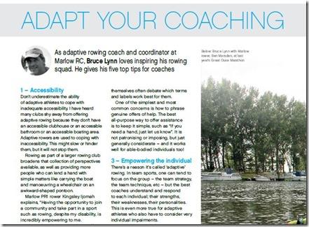 Adapt Your Coaching