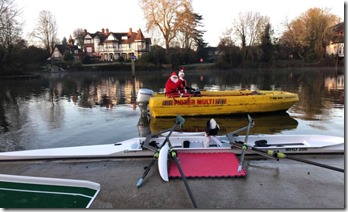 Maidenhead Santa Scratch Regatta 4