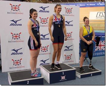 BRIC 2019 - PR3 Womens 2000m winners podium