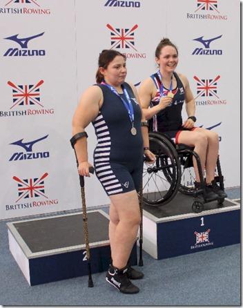 BRIC 2019 - Womens PR2 winners podium