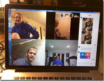 Virtual training session Skype