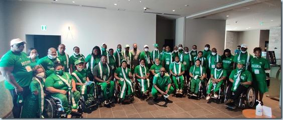 Kingsley Ijomah - Tokyo paralympics 2
