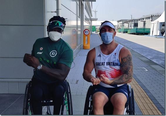 Kingsley Ijomah - Tokyo paralympics 3